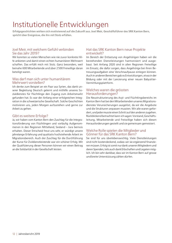 2020 Jahresbericht 2019 SRK Kanton Bern web 01 12 page 0001